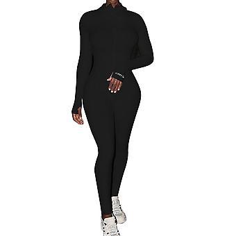 Knit Rib Bodycon Fitness Playsuit