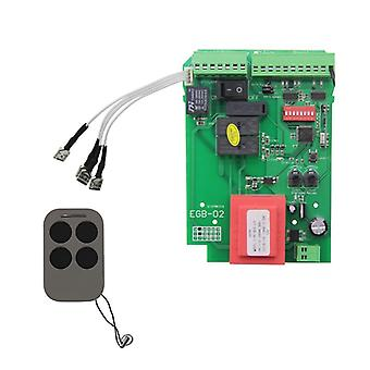 Sliding Gate Opener Control Board & Motor Control Panel For Automatic Door