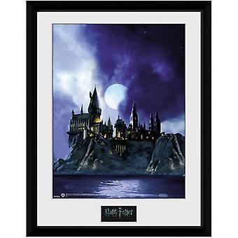Harry Potter Picture Hogwarts Night 16 x 12