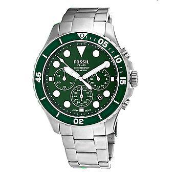 Fossil Men's Classic Green Dial Watch - FS5726
