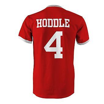 Glenn Hoddle 4 England Country Ringer T-Shirt