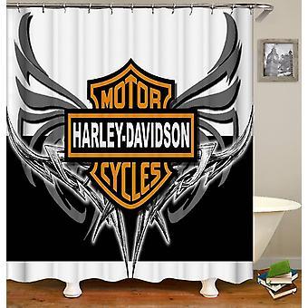 Rideau de douche Harley Davidson Metal Wings