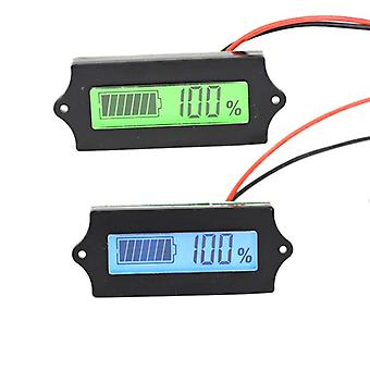 LCD Lithium Iron Phosphate Battery LiFePO4 Acid Lead Lithium Battery Capacity Indicator Digital Volt