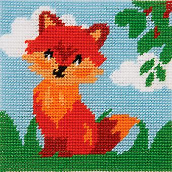 Anchor Tapestry Kit: 1st Kit: Friendly Fox