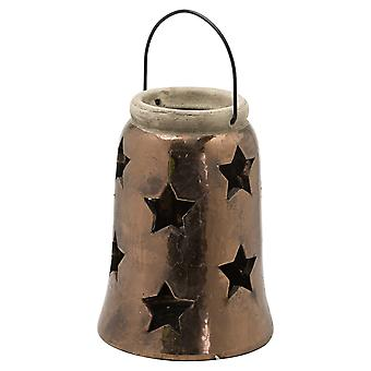 Hill Interiors Evi Star Candle Lantern