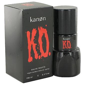 Kanon Ko Eau De Toilette Spray By Kanon 3.3 oz Eau De Toilette Spray