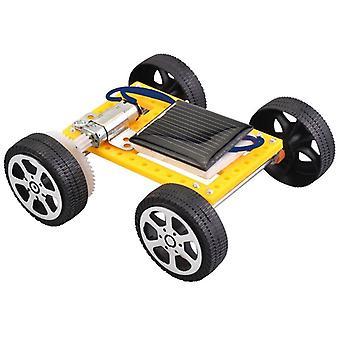 Diy Assembled Energy Solar Powered Toy Car, Robot Kit Set, Mini Science