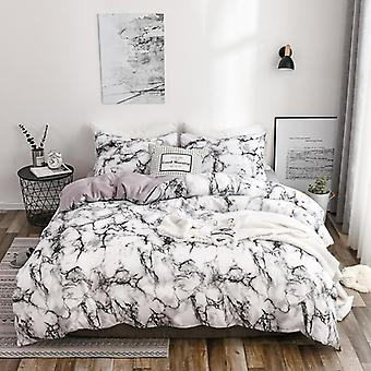 Printed Marble Bed Sheet Sets