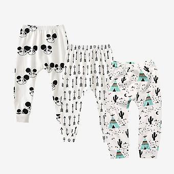 3 piezas/lote bebé algodón suave pp pantalones