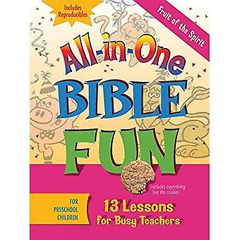 Fruit of the Spirit for Preschool Children: 13 Lessons for Busy Teachers