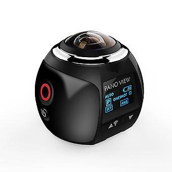 360 درجة بانورامية واي فاي HD زاوية واسعة لمكافحة اهتزاز الرياضة في الهواء الطلق كاميرا 4k