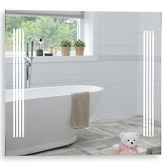 MOOD Illuminated Bathroom Mirror 80cm x 70cm