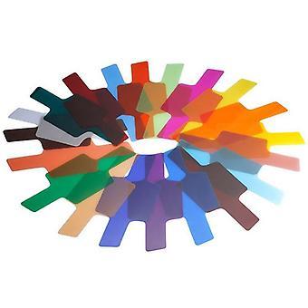 Flash Speed Lite Color Gels Filters Card