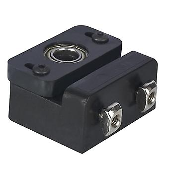 Z axis lead screw fixing block aluminum block 3d printer lead screw fix mount for z5 z6 z8 z10 z-rod bearing holder