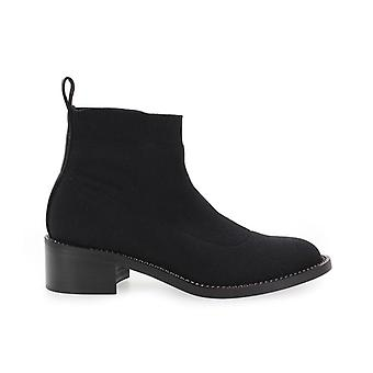 Marc Ellis Black Stretch Ankle Boot