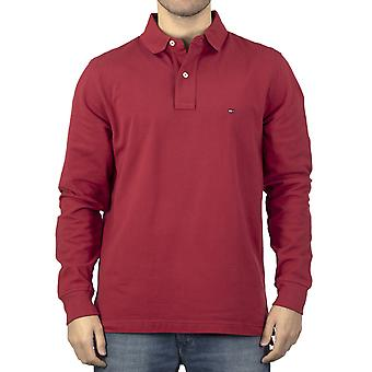 Tommy Hilfiger Hommes Polo Shirt Rouge