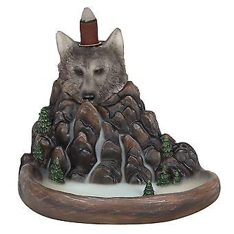 Something Different Cliff Wolf Backflow Incense Burner