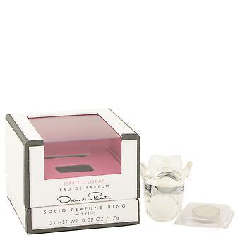 Esprit d'Oscar door Oscar De La Renta Solid parfum Ring met Refill.02 oz