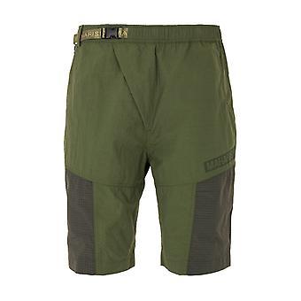 Maharishi Utility 2.0 Tech Recycled Nylon Track Shorts - Olive