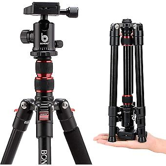 FengChun B690A Kamerastativ, leichte Aluminiumlegierung, tragbar, professionelles Stativ mit