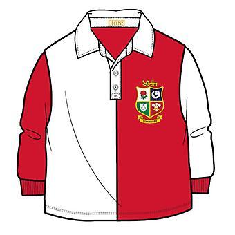 British & Irish Lions Rugby Baby/Toddler Rugby -| Punainen/valkoinen | 2021 | 9-12 kuukautta