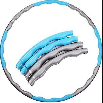 Cerceau gris bleu plastique adulte 8 détachables en intérieur équipement sportif extérieur dt5108