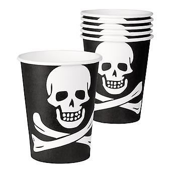 Piraten Tassen, 6pcs.