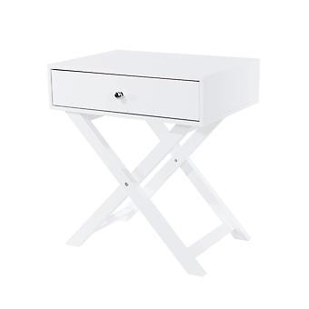 Portal X leg 1 drawer petite bedside cabinet
