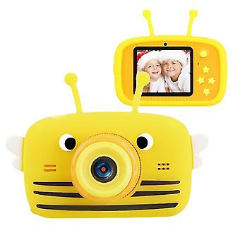 Yellow bee portable full-hd 1080p digital mini-camera child camera az12255