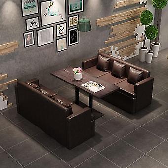 Western Coffee Shop pöytätuoli yhdistelmä yksinkertainen jälkiruoka maito tee kauppa sohva