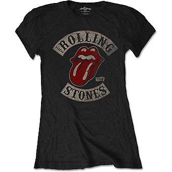 The Rolling Stones - Tour 1978 Damen Medium T-Shirt - Schwarz