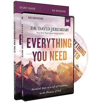 Everything You Need Study Guide with DVD  Essential Steps to a Life of Confidence in the Promises of God by Dr David Jeremiah