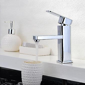 Single Hole Handle Short Type Hot And Cold Water Bathroom Faucet