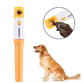 Pet Paws Dog Cats Grooming Grinding Painless Nail Grinder Trimmer Clipper