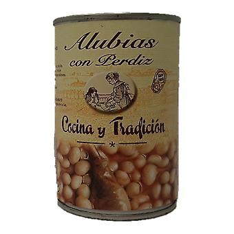 Haricot Bohnen mit Rebhuhn Cocina y Tradici n (390 g)
