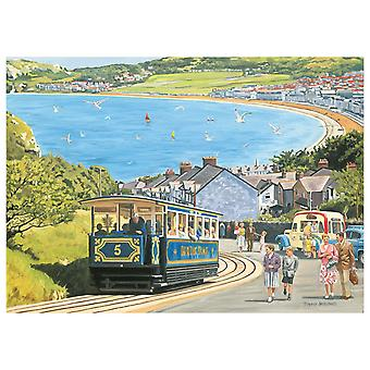 Otter House Seaside Tram Jigsaw Puzzle (1000 Pieces)