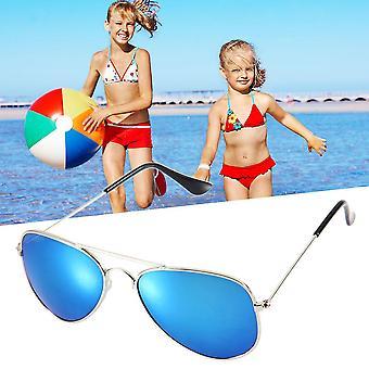 Fashion Jongens Meisjes Kinderen Zonnebril Spiegel Reflecterende Lens Reiziger Zonnebril