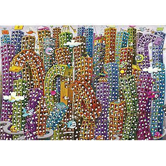 Clementoni Mordillo The Jungle Jigsaw Puzzle (2000 Pieces)