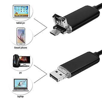 8.0mm 2m Endoskop USB Wodoodporny boroskopKontroli Kamery inspekcyjnej dla Androida