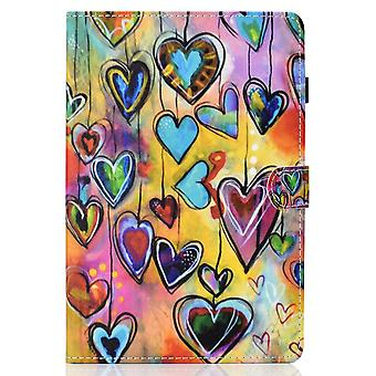 Case For Ipad 8 10.2 2020 Cover With Auto Sleep/wake Pattern Magnetic - Love