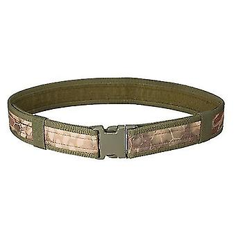 2Pcs climbing webbing 2in hunting belt training heavy duty waist belt outdoor combat utility belt with quick release buckle
