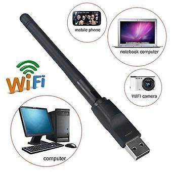 USB WiFi vezeték nélküli PC Dongle adapter antenna vevő internet laptop számítógép