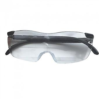 Big Vision Reading Glasses Frameless Magnifying 1.6 Times Eyeglasses 250 Degrees Magnifies Glasses 1 Piece