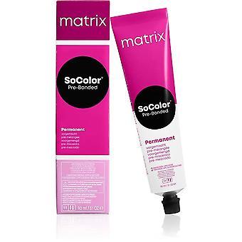 Permanent Dye Matrix Socolor Beauty Colorazione Crema Marrone Nº4 (90 ml)