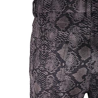 Tinta Style Grey Snake Print Trousers