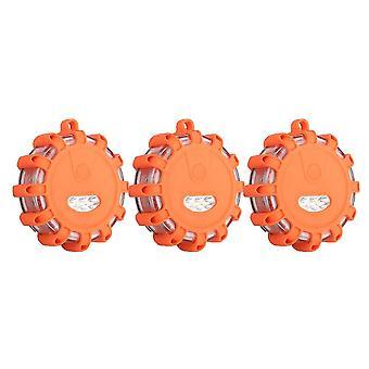 3 led waterdichte knipperende beveiligingslampjes