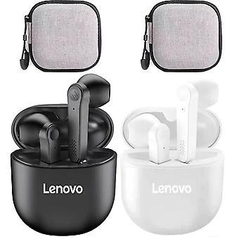 2pcs Lenovo Pd1 Tws Øretelefon Bluetooth Ekte Trådløse Ørepropper Hodesett Med Mikrofon Med Øretelefon Tilfelle