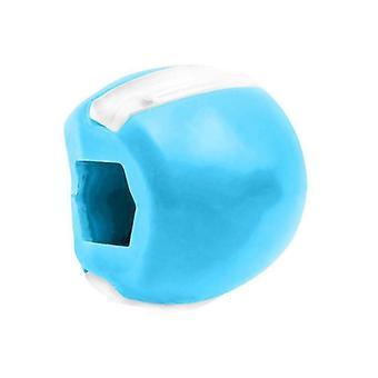 utstyrt med silikon massør tyggekule, ansiktsmuskler, kjeve og nakke muskler treningsball