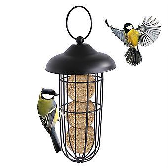 Outdoor hangende vogelvoeder voor buiten balkon, automatische huisdier vogel feeder voor kleine vogels (b)