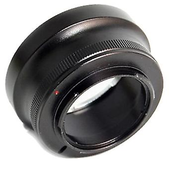 Kiwifotos Lens Mount Adapter: Allows Nikon F-Mount lenses to be used on any Micro Four Thirds System Body